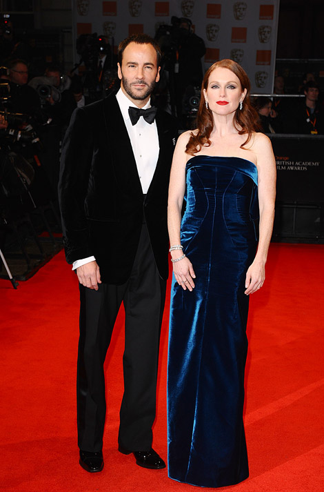 Julianne Moore Tom Ford 2011 Bafta Awards
