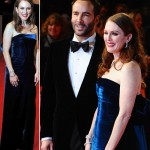 Julianne Moore Tom Ford velvet dress 2011 Bafta Awards
