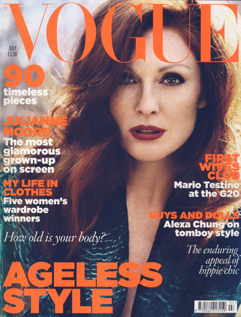 Julianne Moore Vogue July 2009 cover