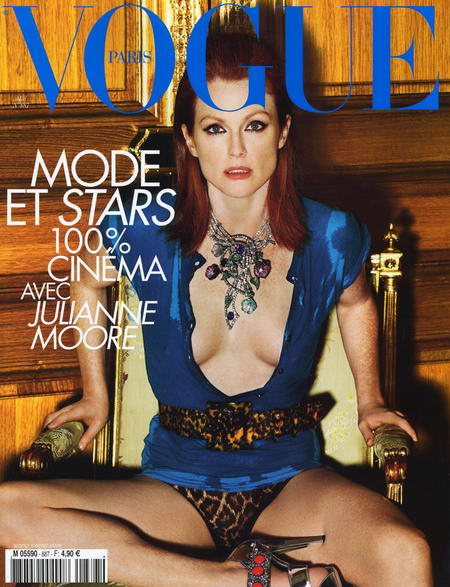 Julianne Moore Vogue Paris May 2008