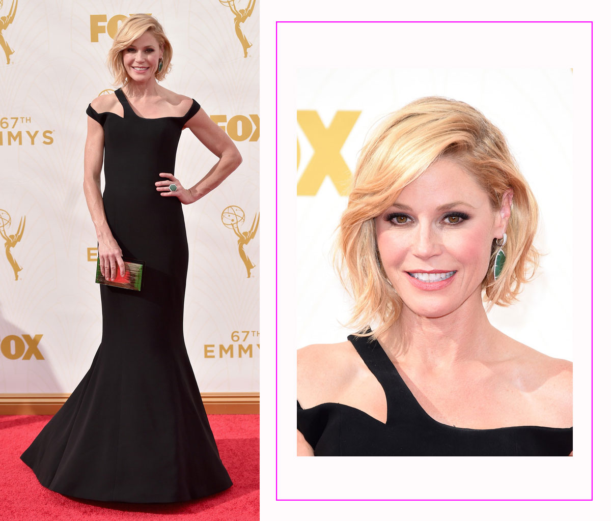 Julie Bowen 2015 Emmy Awards Red Carpet hairdo