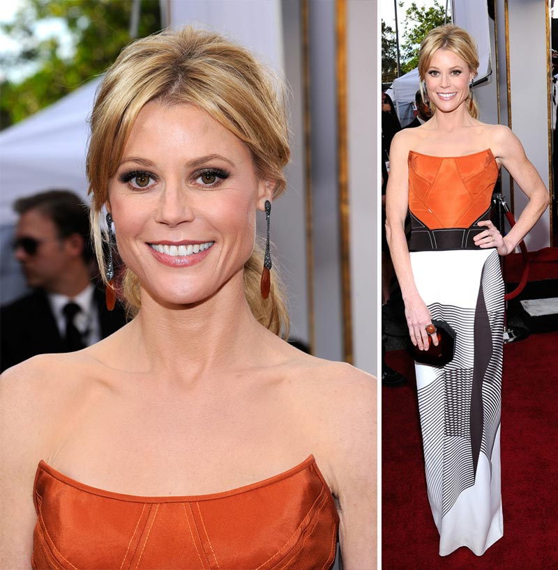 Julie Bowen dress 2014 SAG Awards Red Carpet