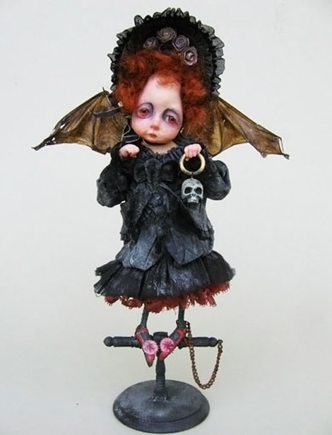 Julien Martinez bat doll
