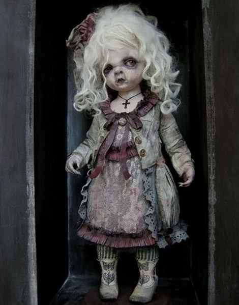 Julien Martinez creepy doll