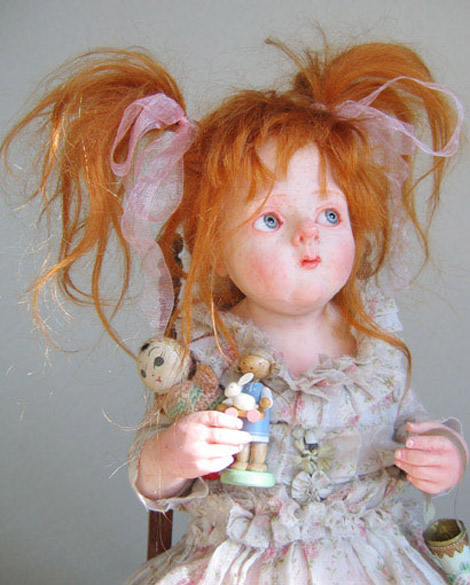 Julien Martinez red headed doll
