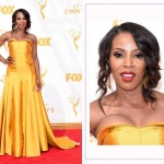 June Ambrose 2015 Emmy Awards Red Carpet hairdo