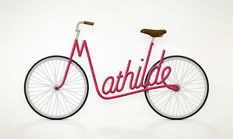 Jury Zaech Typography bike