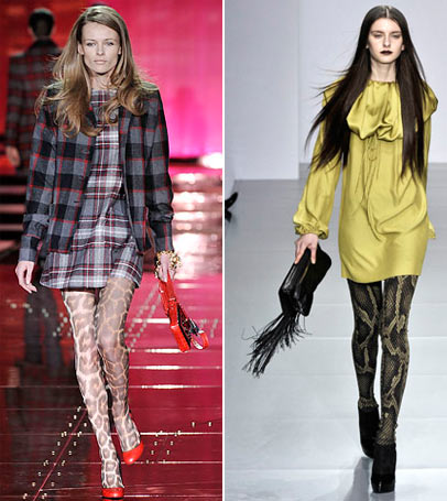 Hosiery Trends For Fall Winter 2008 2009