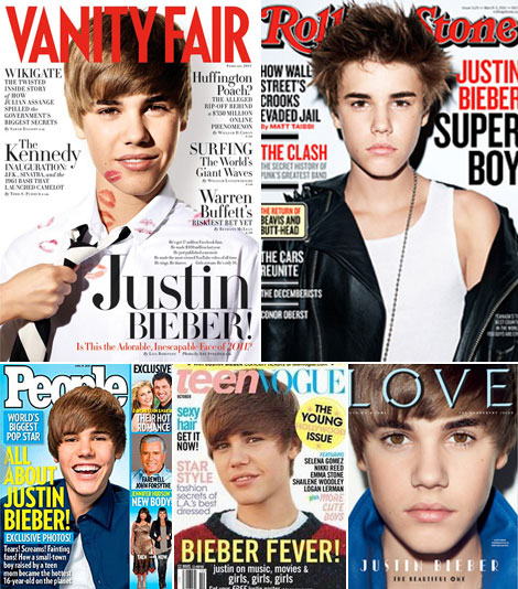 Justin Bieber Doesn't Sell Magazines