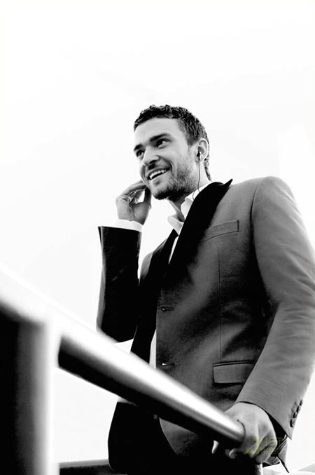 Justin Timberlake Givenchy Perfume Advertising