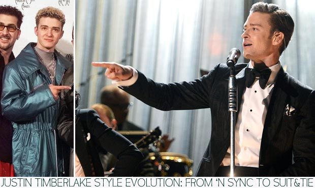 Justin Timberlake style evolution from NSync to Suit and Tie