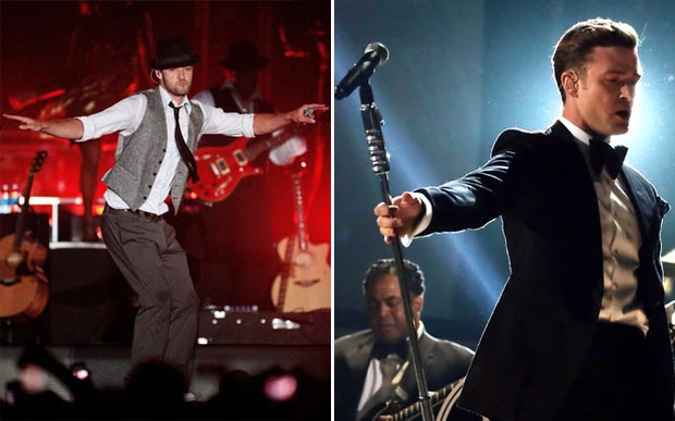 Justin Timberlake style in his dapper suit years