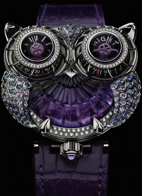 Jwlry Machine Boucheron MBF Owl Watch