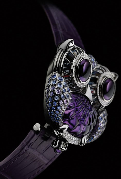 Boucheron And Maximilian Busser's Jwlry Machine Exquisite Owl Watch