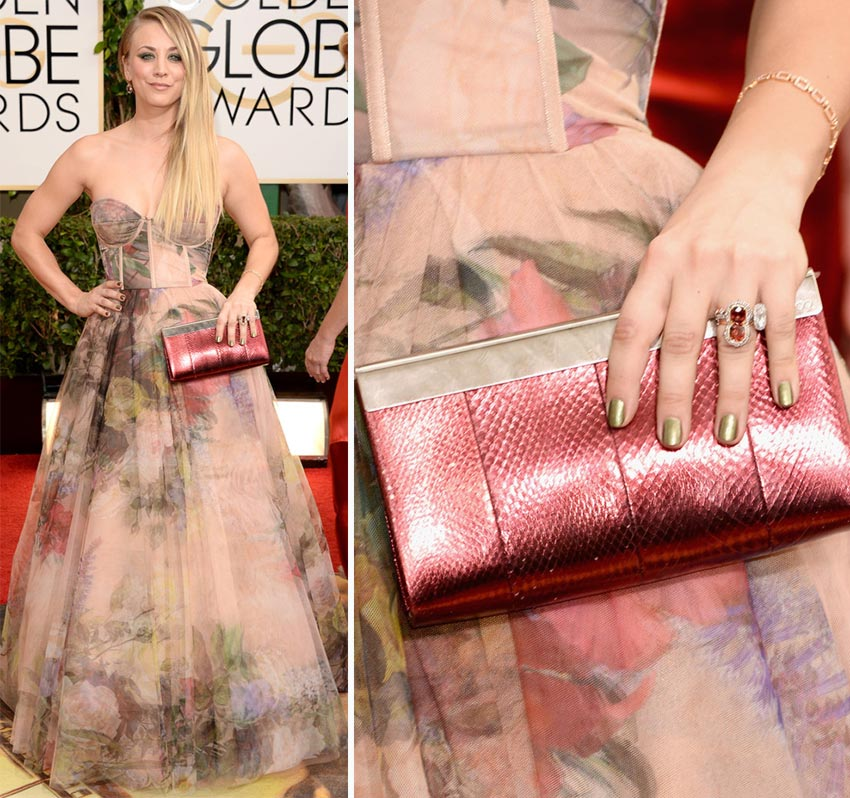 Kaley Cuoco nails 2014 Golden Globes