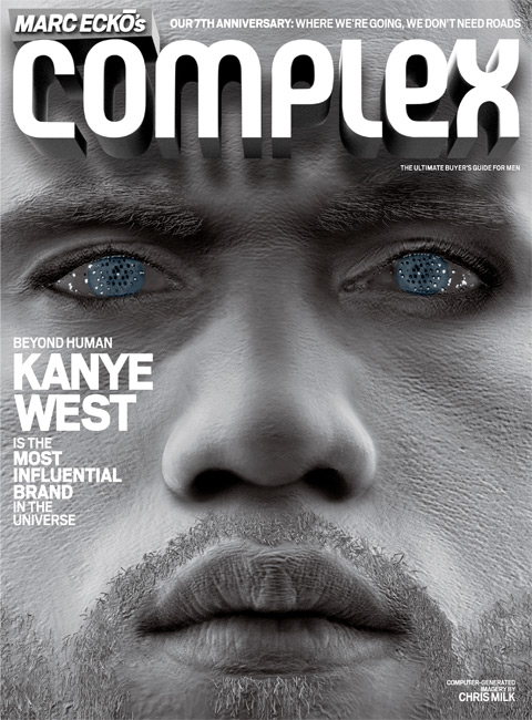 Kanye West Complex Magazine cover