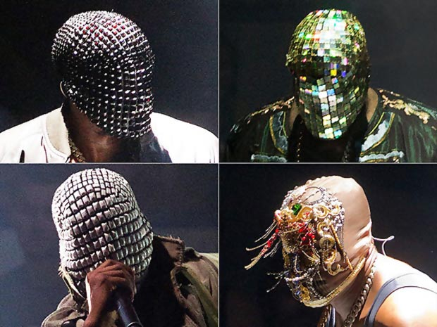 Kanye West face mask Maison Martin Margiela new tour