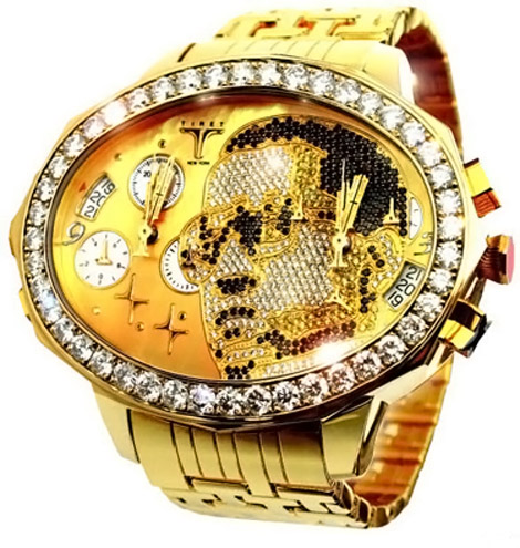 Kanye West&#8217;s $180,000 Tiret Gold Watch