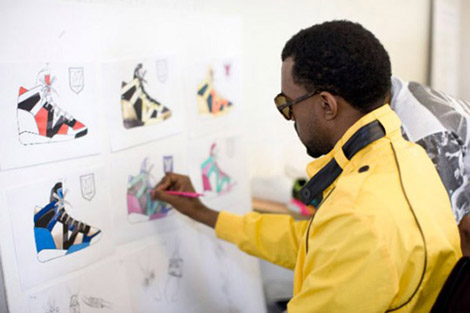 Kanye West Louis Vuitton sneakers second collection