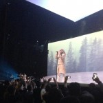Kanye West winter white outfit