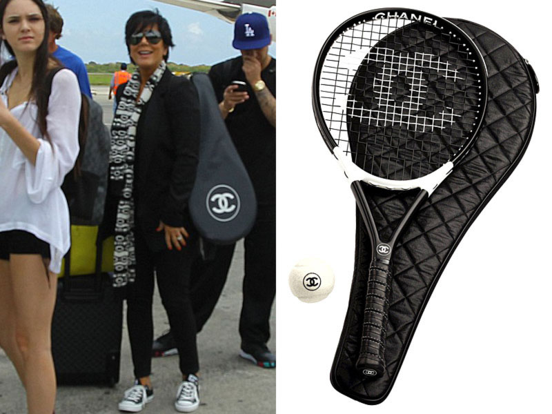 Kardashians Chanel Tennis racket