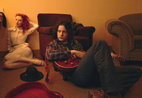 Karen Elson Jack White by Annie Leibovitz Vogue