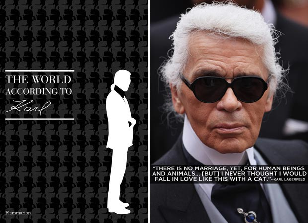 Karl Lagerfeld book The World According to Karl
