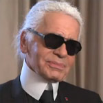 Karl Lagerfeld Has A Facebook In Gold
