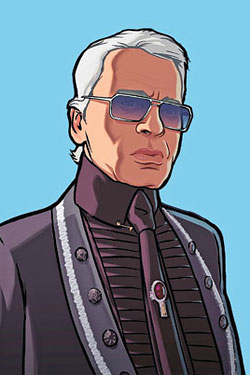 The Kaiser Lagerfeld Wears Prada