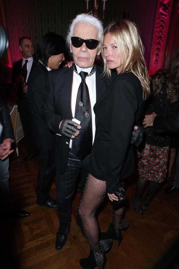 Karl Lagerfeld Kate Moss CR Book launch