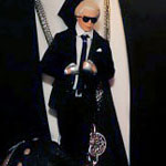 Karl Lagerfeld Is A Ken Doll!