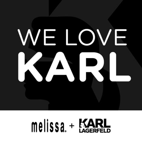 Karl Lagerfeld Melissa collaboration