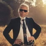 Karl Lagerfeld Picture in Nature