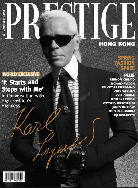 Karl Lagerfeld's Interview In Prestige Magazine – Your Daily Lagerfeld Wisdom Without Moderation