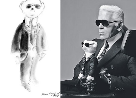 The Lagerfeld Steiff Teddy Bear Unleashed!