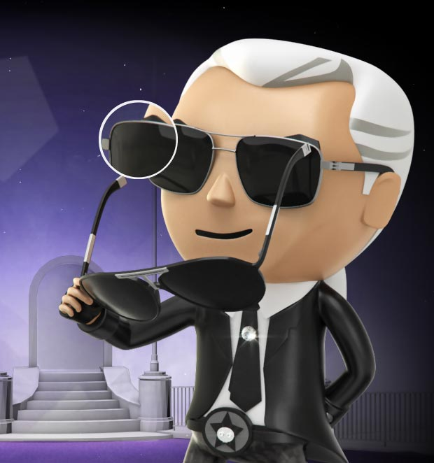 Fashion's Hottest Game: Get Lagerfeld's Sunglasses