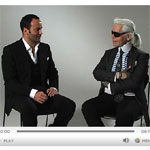 Karl Lagerfeld Vs Tom Ford Fashion Talk