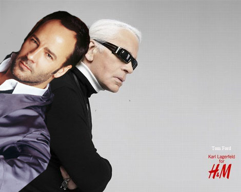 Karl Lagerfeld Tom Ford