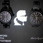 Karl Lagerfeld watches BWD special edition