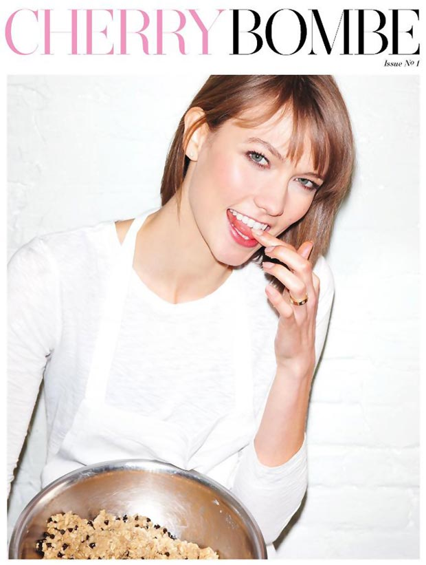 Karlie Kloss Cherry Bombe Foodie Magazine Cover
