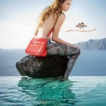 Karlie Kloss Hermes Summer 2010 campaign mermaid