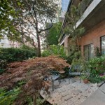 Karlie Kloss New York Apartment private garden
