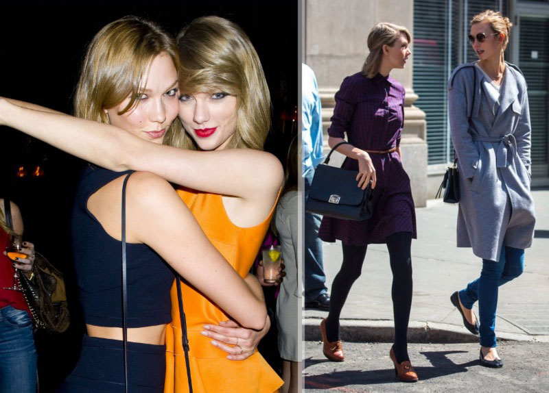 Karlie Kloss Taylor Swift friendship