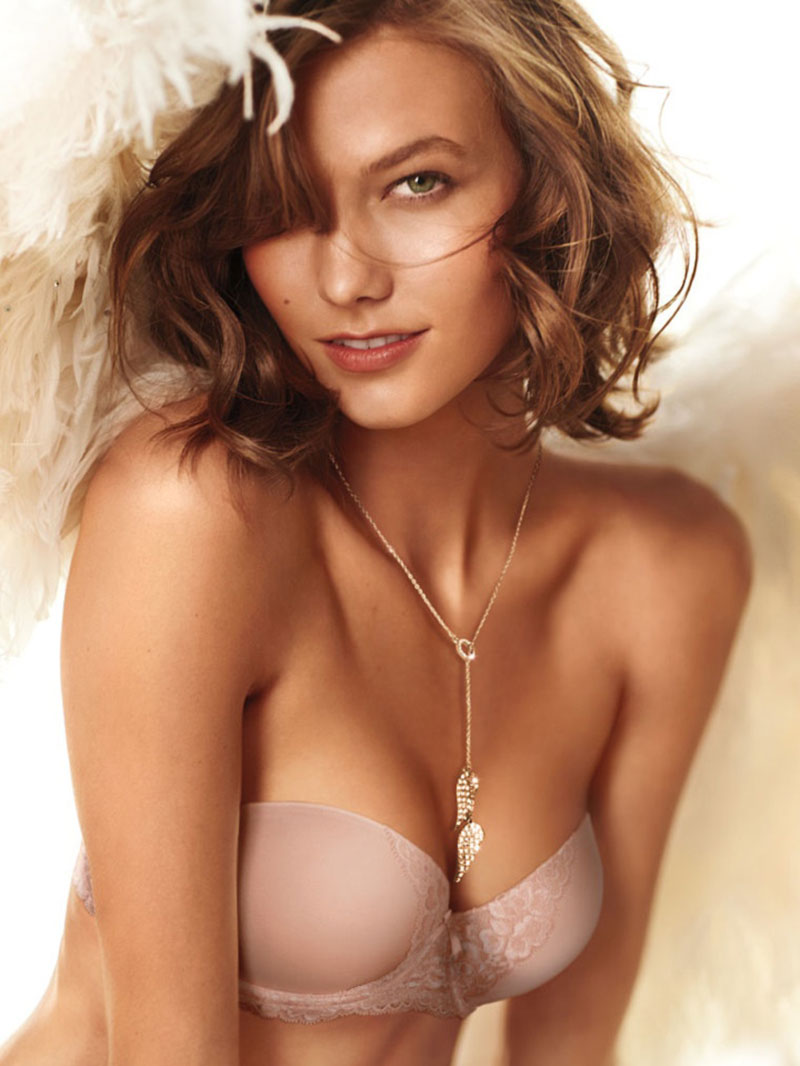 Karlie Kloss Victoria s Secret Heavenly perfume campaign