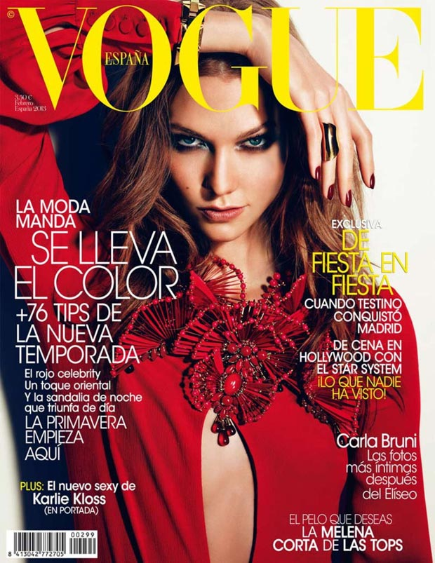 Karlie Kloss Vogue Spain February 2013 cover
