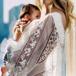 Karolina Kurkova with baby boy Tobin 2