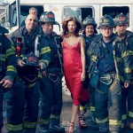 Kasia Struss Karlie Kloss Vogue February firefighters