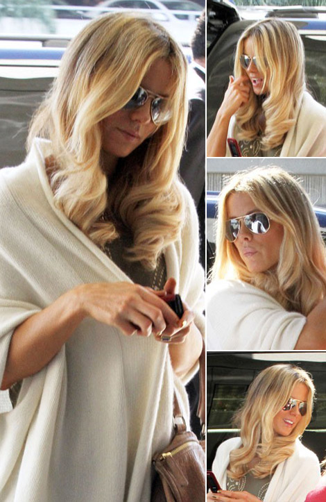 Kate Beckinsale new blond hair