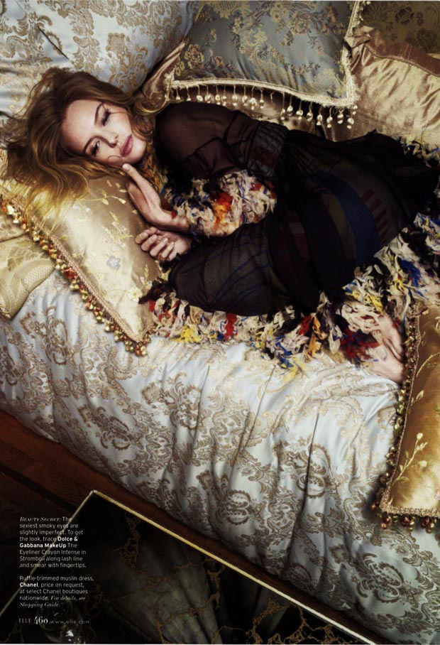 Kate Bosworth Elle March 2013 story