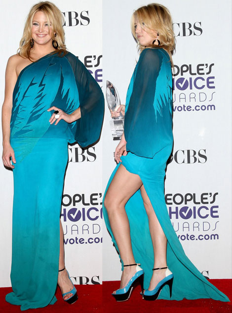 Kate Hudson People s Choice Awards 2009 Gucci dress